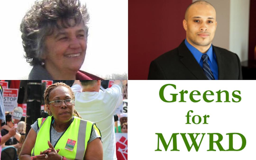 MWRD Candidates Blast Sewage Dumps