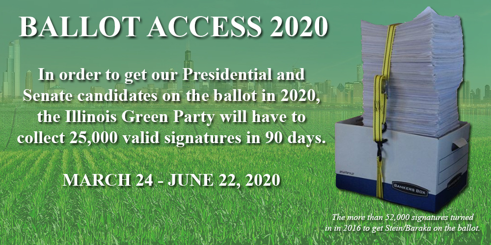Join the Presidential and US Senate Ballot Petitioning Drive